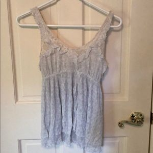 Free People Flowy Tank with Adjustable Straps